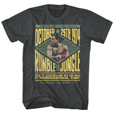 Muhammad Ali Rumble in the Jungle Kinshasa Zaire 1974 Mens T Shirt Boxing Legend