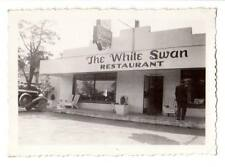 "Vintage snapshot ""The White Swan"" restaurant La Crosse, Wi Rays Photo Service"