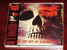 sarcastique Terror: The Last Act de Subsidence - Édition Limitée CD 2016 USA