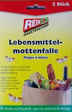 Reinex 2 Stück Lebensmittelmottenfalle Lebensmittel Motten Falle Pheromonfalle