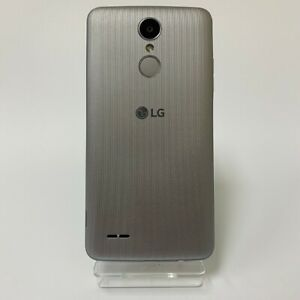 LG K8 2017 16GB Unlocked Black Silver Android Smartphone Mobile 4G | Very Good
