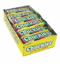 CHUCKLES Jelly Candy Bar 2oz 24 bars per box