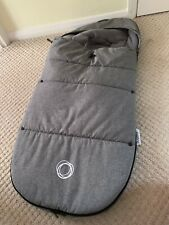 Bugaboo Grey Melange Universal Footmuff! Excellent Used Condition!