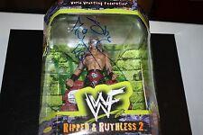 Wwe Wwf Jakks Ripped and Ruthless Signed Shawn Michaels Figure Rare Autograph!
