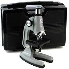 Kids Students Tasco P1200ZFC Microscope Kit Carrying Case First Users