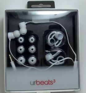Beats by Dr. Dre urBeats3 Earphones with 3.5mm Plug - White, MQFV2LL/A