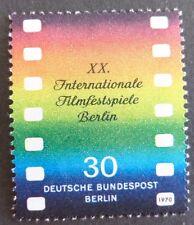 GERMANY MNH STAMP DEUTSCHE BUNDESPOST BERLIN 1970 FILM FESTIVAL  SG B349