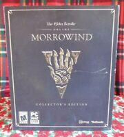 The Elder Scrolls MORROWIND Collector's Edition EMPTY BOX
