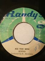 """Echoes – Are You Mine / I Love You Forever - 7"""" Vinyl Single 1962"""