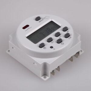DC 12V 16A Digital LCD Power Programmierbarer Timer Zeitschalter Relais16A