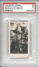 1922 Boys Cinema GEORGES CARPENTIER #6 PSA 1 PR Famous Film Heroes