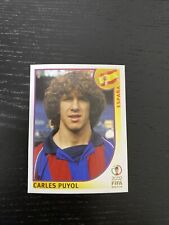 Rookie Carles Puyol Spain Panini FIFA World Cup 2002 Japan & Korea blue back 100