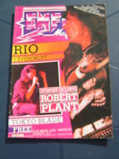 Enfer Magazine 22 1985 ROBERT PLANT ULI ROTH SCORPIONS BLUE CHEER ALCATRAZZ LED