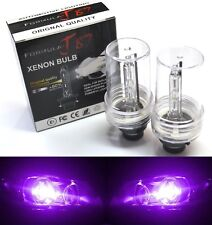 HID Xenon D2S Two Bulbs Head Light 12000K Purple Bi-Xenon High Low Beam Replace