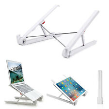 Folding Laptop Stand Portable Desktop Adjustable Tablet Mount Office PC Holder