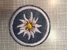Edelweiß Oktoberfest Button Patch Aufbügler Deko Zierde Verzierung 5,5cm