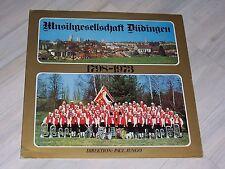 Musikgesellschaft DÜDINGEN : 1798 - 1973, Direktion, Paul JUNGO / TST Music LP !