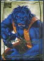 2016 Marvel Masterpieces Gold Signature Trading Card #59 Beast /1499