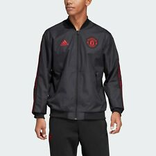 ADIDAS MANCHESTER UNITED ANTHEM JACKET MEN SIZE L NEW WITH TAGS!!!