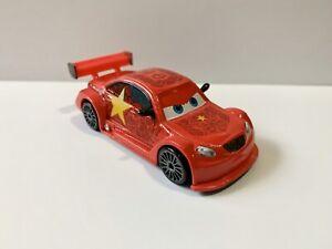 DISNEY PIXAR CARS 1:55 SCALE RARE CHINESE RACE CAR 'LONG GE' DIE CAST VEHICLE