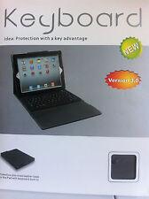 Ipad 2/3 Wireless keyboard and Folio Case. Bluetooth Keyboard and Leather case.