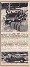 1966 JAGUAR XKE / XK-E 2+2  ~  CLASSIC ORIGINAL ARTICLE / AD