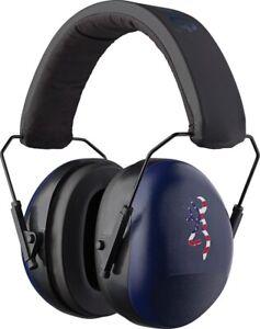 Browning Buckmark II Red/Blue Shooting Range Hearing Protection Earmuffs 126387