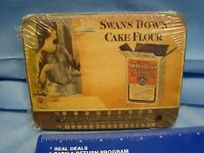 SWANS DOWN CAKE FLOUR Themometer Plaque Retro Kitchen USA Made NOS