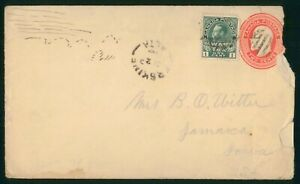 Mayfairstamps Canada to Jamaica IA Uprated War Tax Cover wwp_62989