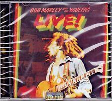 CD ♫ Compact disc «BOB MARLEY and THE WAILERS ♪ LIVE» nuovo sigillato