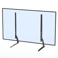 "Table Top TV Stand Leg Mount Holder Bracket for Flat LED LCD Screen 40-65"" inch"