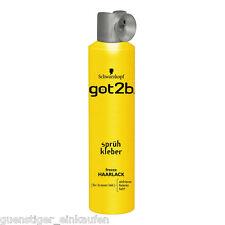 300ml Schwarzkopf Got2b Spray pour Cheveux Adhésif en Aérosol Freeze