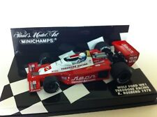 Minichamps 1978 Keke Rosberg Wolf Ford WR1 Theodore Racing GP #32 1:43 NIB •