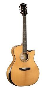Cort GOLDEDGENAT Solid Limited Edition Edge Acoustic Electric Guitar LR Baggs