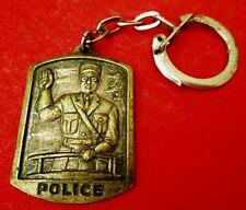 PORTE-CLÉS ANCIEN - POLICE - A N P M  - ASSOCIATION NATIONALE POLICE MUNICIPALE