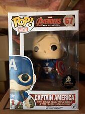 Funko Pop! Custom Captain America Unmasked Steve Rogers Chris Evans Avengers