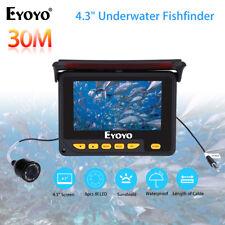"EYOYO 30M Underwater Portable Fishing Camera Fishfinder 4.3"" Monitor + Sunshield"