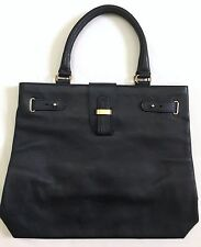 Alcott & Andrews Navy Blue Caviar Leather Handbag
