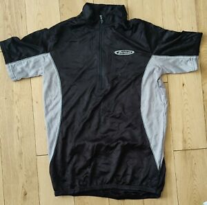 Bicycles Short Sleeve Cycling Jersey Size Small Black Grey