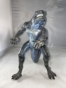 "1998 TRENDMASTERS Living Godzilla 11"" SOUND/JAW WORKS Movie Monster ZILLA"