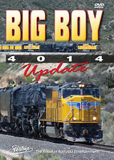 Big Boy 4014 Update DVD NEW PENTREX Union Pacific UP Pomona Cheyenne Cajon Pass