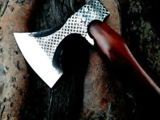 MDM CUSTOM HAND ENGRAVED COMBAT TOMAHAWK VIKING CAMPING HUNTING BREAD AXE