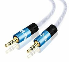 IBRA® 3M 3.5mm to 3.5 mm Male Jack Audio IPOD AUX MP3 Gold Cable - Blue