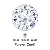 Charles & Colvard® Orig. Forever One™ DEF Moissanite Round Brilliant Cut Loose