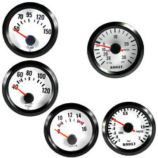 "2"" 52mm Car Universal Boost Water Oil Temp Volt Tacho Bar Gauge Meter LED"
