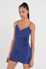 Urban Outfitters Urban Renewal Remnants Striped Mini Wrap Dress XS NWT Bloggers
