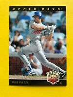 1993 MIKE PIAZZA Star ROOKIE Upper Deck CARD #2 Baseball Los Angeles Dodgers mlb