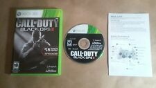 Call of Duty: Black Ops II 2 (Xbox 360, 2012) Complete With Manual Ships Fast