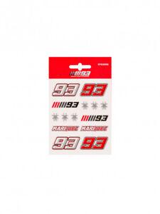 Official Marc Marquez Medium Sticker Set - 18 53016