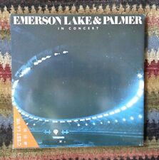 EMERSON. LAKE & PALMER-WORKS LIVE- RARE AUDIOPHILE LP OLW-307 EX VINYL /EX COVER